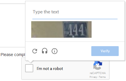 STORRE Captcha text